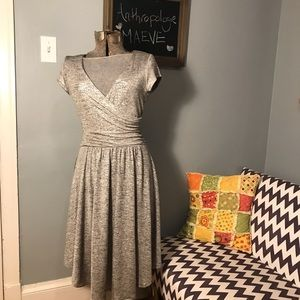NWT Maeve Silver Tamera Dress
